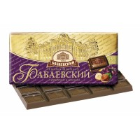 Babaev dark with hazelnuts and raisins wholesale