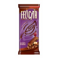 Milk chocolate FELICITA ® Bella Natura Hazelnut and Raisins wholesale