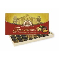 Babaevskie Chocolate milk praline with nuts wholesale