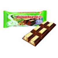 """Alpine fairy-tale"" milk chocolate with cream filling and whole nut wholesale"