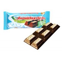 """Alpine fairy-tale"" dark chocolate with nut filling and crispy balls wholesale"