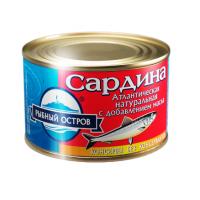 Sardine atlantic natural with oil in bulk