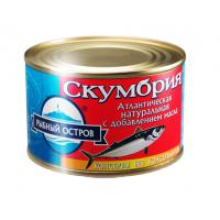 Atlantic mackerel natural with gross oil