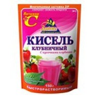 Kissel strawberry with strawberry slices instant wholesale