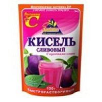 Kissel plum with slices of plum instant wholesale