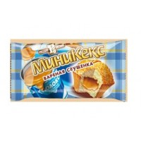 Boiled condensed milk mini muffins (in ind. Pack) wholesale