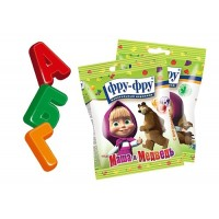 Chewing marmalade FRU-FRU Masha and the Bear Alphabet wholesale
