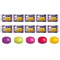 "Caramel candy plus Five ""sour explosion"" gross"