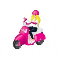 Barbie scooter toy with candy wholesale