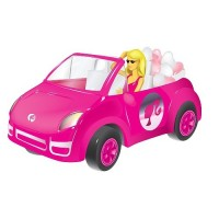 Barbie in a convertible toy with candy wholesale