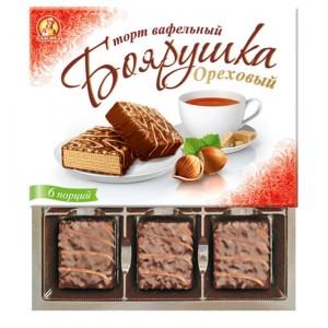 """Boyarushka"" nut cake wholesale"