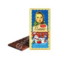 Chocolate Alenka (sweet postcard)