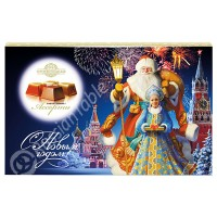Candies Santa on Red Square assorted