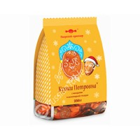 """Chocolate-Glazed Dried ""Apricots Petrovna"" with Almonds 250 g"