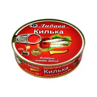 144 Sprat in tomato sauce, a key pad 160g. wholesale