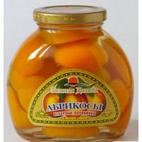 Apricot halves compote Art / b 580gr. wholesale