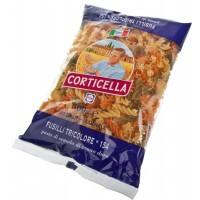 """Fusilli tricolor №154 (Fusilli with tomatoes and spinach) """"Corticella"""" 500gr. wholesale"""