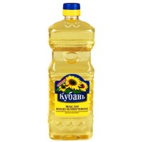 "Refined sunflower oil, ""Kuban"" 0,71l. wholesale"