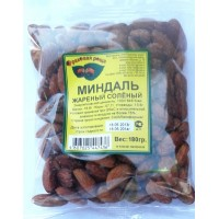 Almonds roasted salted 180gr. wholesale