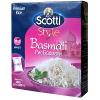 Rice Riso Scotti Basmati in the cooking bag 400g wholesale