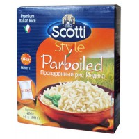 Rice Riso Scotti Parboiled long grain parboiled polished 400g bags wholesale
